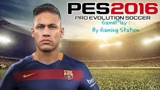Pro Evolution soccer 2016 gameplay on Intel Core 2 Duo E4400
