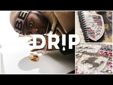 Not3s Collects His Buss Down Porsche Pendant - #Drip Ep.10 | Link Up TV