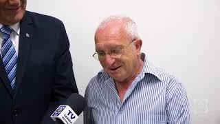 Luis Caramelo recebe moção do vereador Zé Fernandes