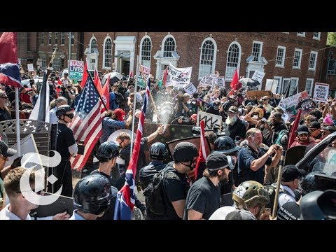 How the Violence Unfolded in Charlottesville | The New York Times