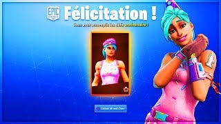 VOICI THE FREE FORTNITE ANNIVERSAIRE GIFTS!