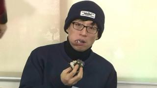 유재석 지석진 굶게 만든 삼각김밥 폭식 running man 런닝맨 ep469