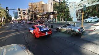 POLICE ESCORT down the Las Vegas Strip!!!