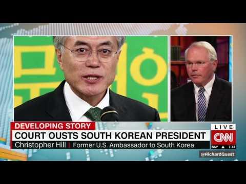 CNN's Zain Asher interviews Amb. Chris Hill on South Korea's political scandals