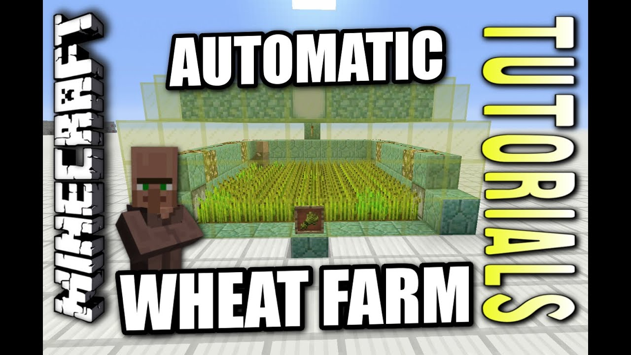 how to get wheat in minecraft ps4