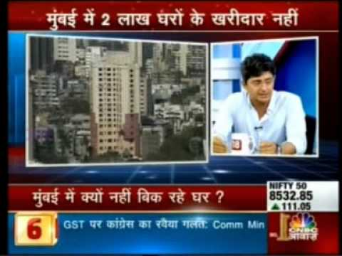 CNBC Awaaz: Realty prices in Mumbai may come down.
