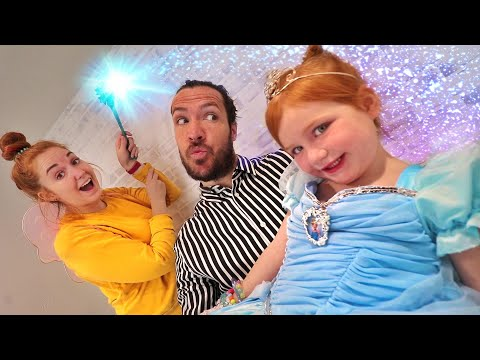 ADLEY PRiNCESS MAKEOVER!!  invited to a Royal Ball by my pet dog! magic parents disney surprise spa!