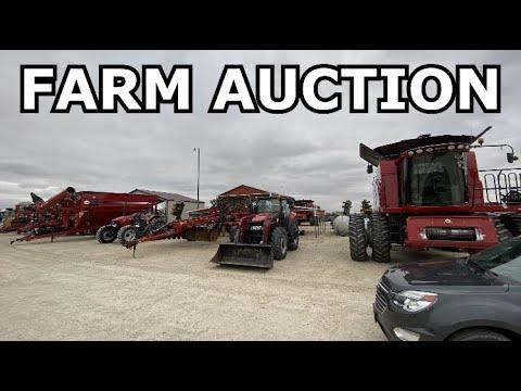 FARM AUCTION SHOPPING