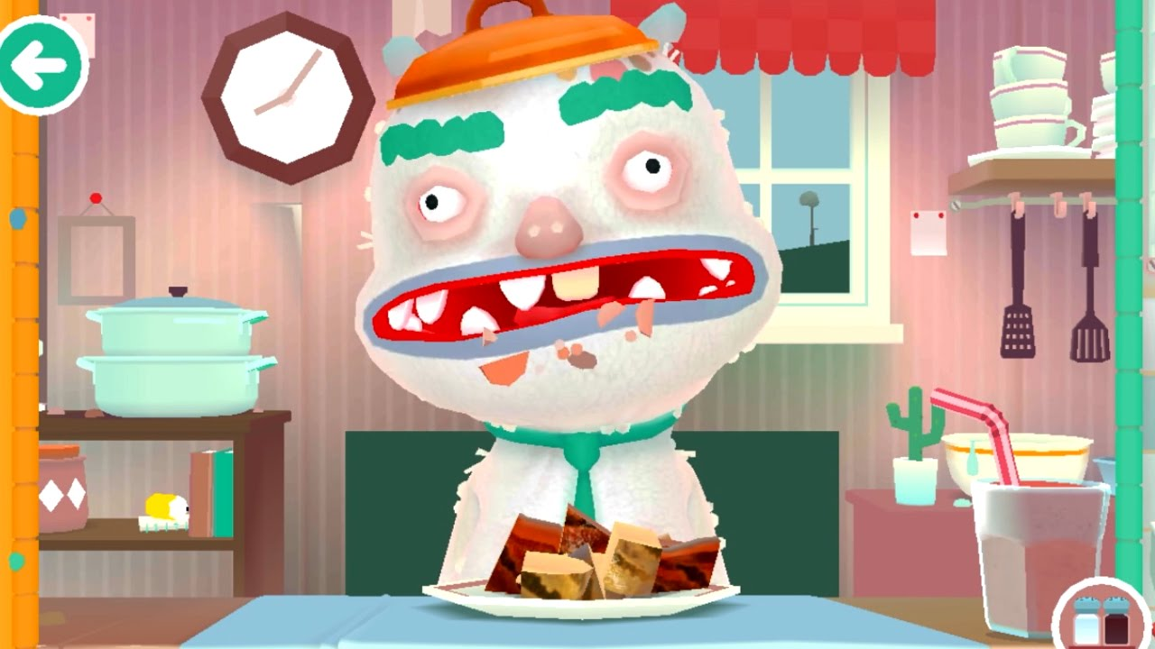 Super funny cooking game Toca Kitchen 9 App for kids - YouTube