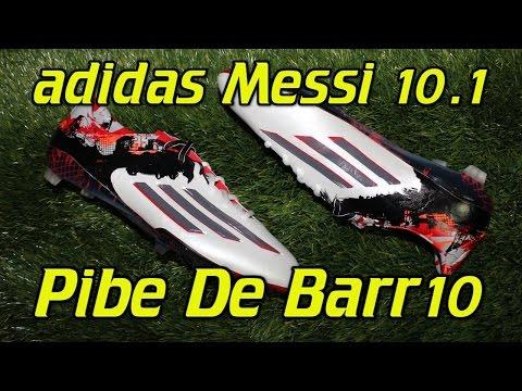 Adidas Messi 10.1 Pibe De Barr10 - Review + On Feet