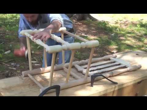 Making a Banister-Back Chair