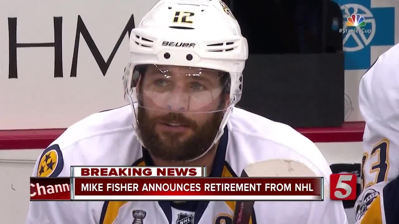 Mike Fisher to end retirement, return to Predators