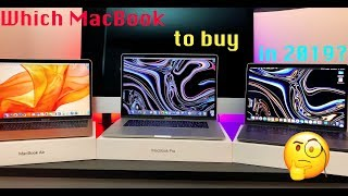 If you're planning on buying a new MacBook - WATCH THIS! / MacBook 2019 Buying Guide