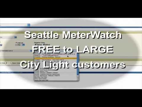 Seattle MeterWatch -- Conservation in Real Time (closed caption)