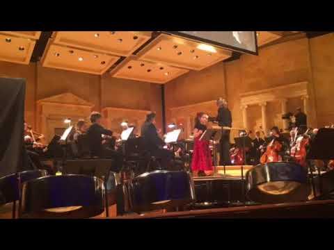 Ave Maria with the Toledo Symphony Orchestra November 2017