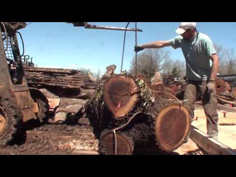 SUPER AWESOME 27 HP, 7 foot chainsaw mill! BLACK WALNUT!