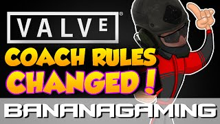 CS:GO - Valve: Coach rules changed! Huge impact & my opinion | BananaGaming