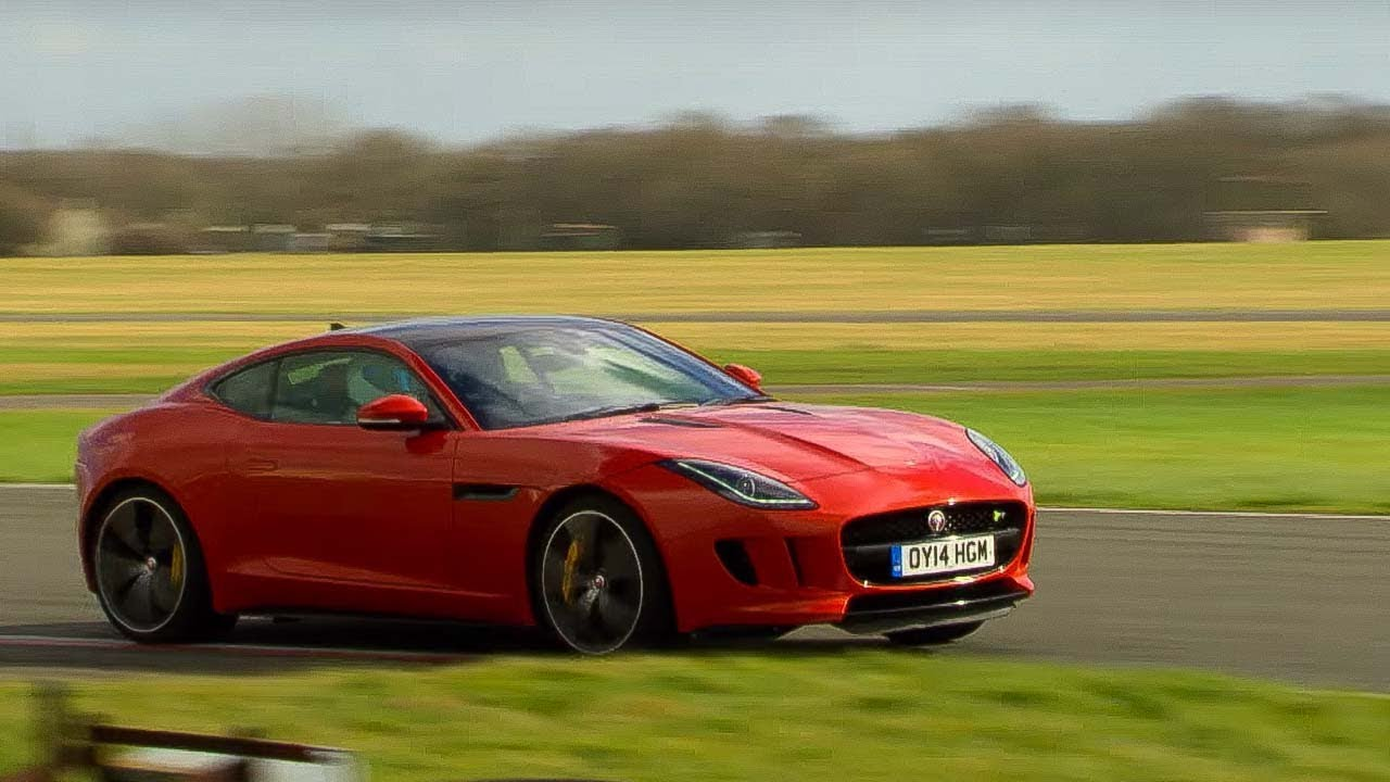 StigCam | Jaguar F Type R | Top Gear