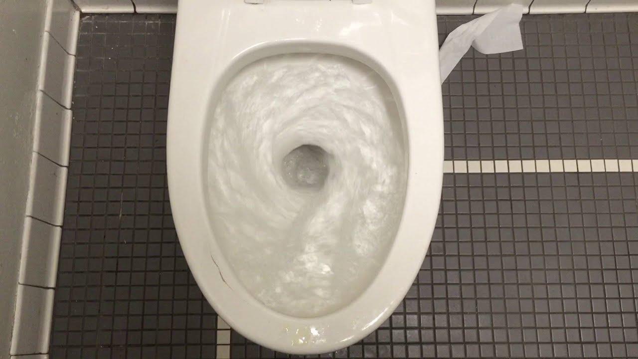 529 Older American Standard Afwall Toilet Youtube