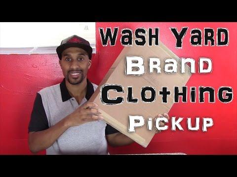 New Clothing Brand Pickup | Wash Yard Heritage Brand