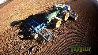 john deere 8320 et semoir lemken 6m au semi de bl en 2013