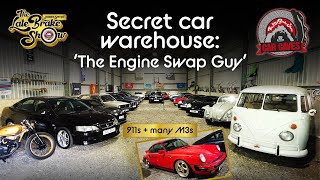 Secret barn collection of Porsches, M3s and JDM cars - Car Caves