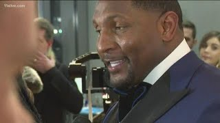 Ray Lewis in Atlanta for Super Bowl LIII