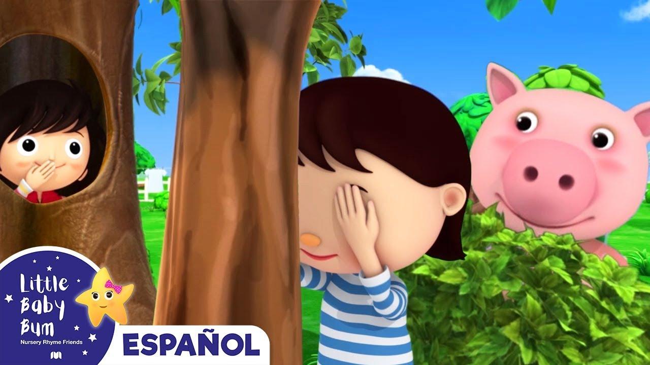 Download Canciones Infantiles | Canción del Escondite | Dibujos Animados | Little Baby Bum en Español