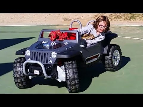 Power Wheels Jeep Hurricane Conversion 12 To 18 And 24 Volts!