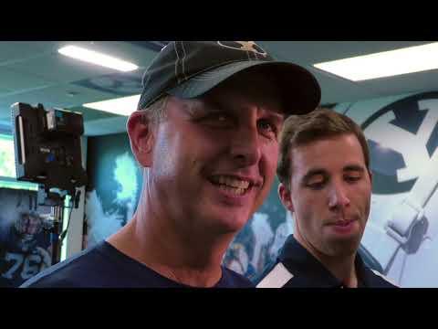 2017 BYU football: Ty Detmer talks Wisconsin week, no update on BYU quarterbacks