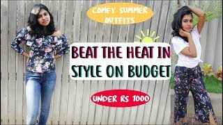 Summer Outfits under Rs 1000 - Summer Outfits India | AdityIyer - Stylewithadity Series