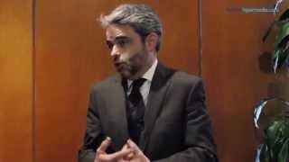 Juan Luis Polo en la presentación de Planeta Hipermedia