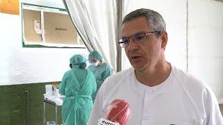 El Hospital Don Benito-Villanueva realiza muestras de Covid-19 en carpa anexa
