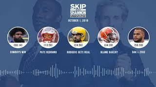 UNDISPUTED Audio Podcast (10.01.18) with Skip Bayless, Shannon Sharpe & Jenny Taft   UNDISPUTED