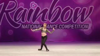 Makena Kithcart Tap Solo Rainbow Dance Competition