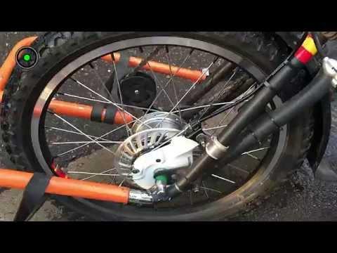 3-х колесный велосипед для инвалида