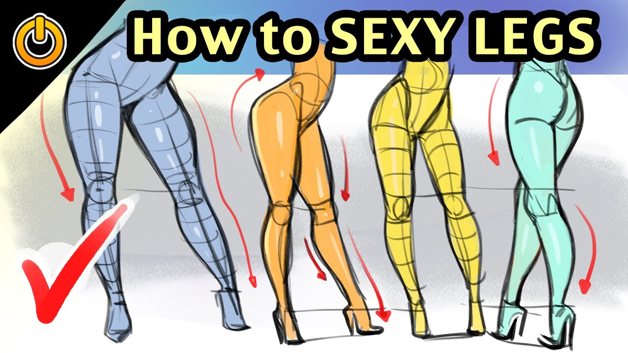 39f7b2489a6 How to DRAW SEXY FEMALE LEGS! Structure and Flow! by REIQ