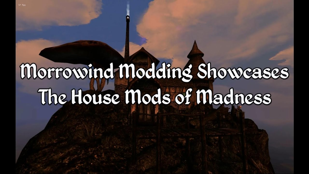 Morrowind Modding Showcases House Mods Of Madness