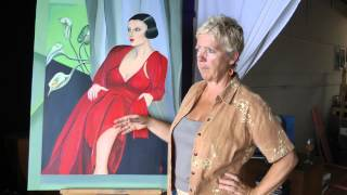 Paulette Perry talks about her tribute to Tamara de Lempicka