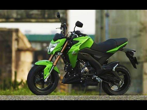 NOVA KAWASAKI Z-125 / PRO - MOTONEWS - YouTube
