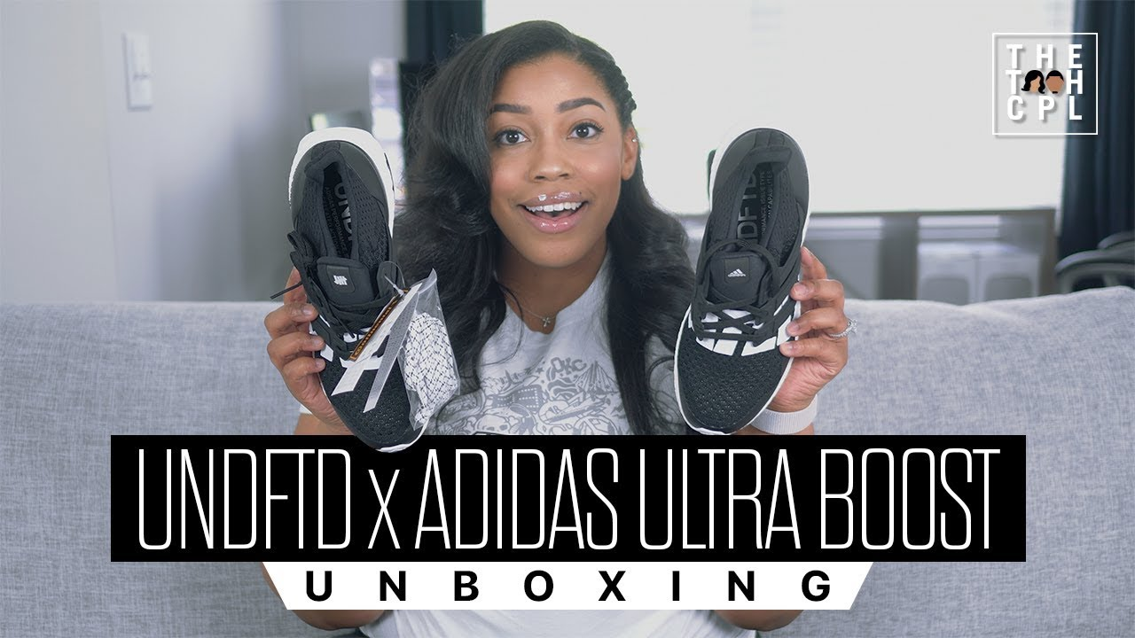 18ff6e739e2a UNDFTD x adidas Ultra Boost Unboxing - YouTube