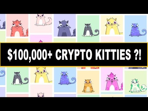 $100,000+ Selling Crypto Kitties?! Ethereum Can't Handle The Craze!