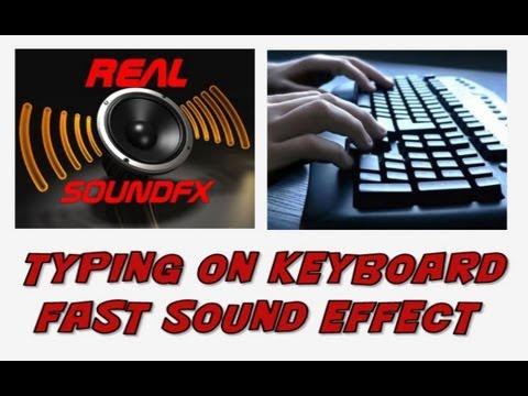 Computer Typing Sound Effect