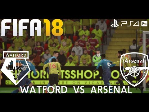 FIFA 18 (PS4 Pro) Watford v Arsenal PREMIER LEAGUE 14/10/2017 PREDICTION 1080P 60FPS