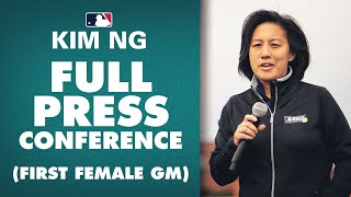 Full Kim Ng Press Conference (First Female GM in 4 major North American male sports)