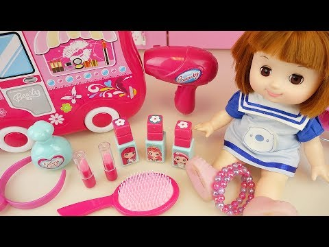 Baby doll beauty surprise Car toys baby Doli play
