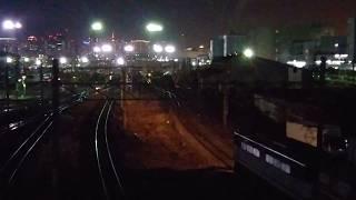 貨物列車 76レ(EF65-2086)~1089レ(EF66-27) 2017/12/18 東京貨物ターミナル