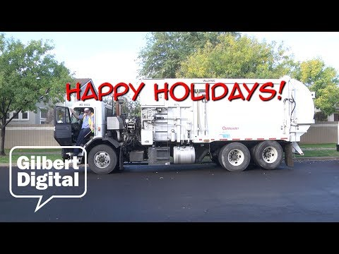 Happy Holidays from Gilbert Environmental Services!