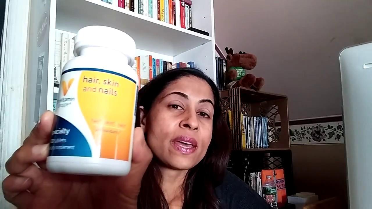 Hair, Skin and Nails Vitamin   Two week update - YouTube