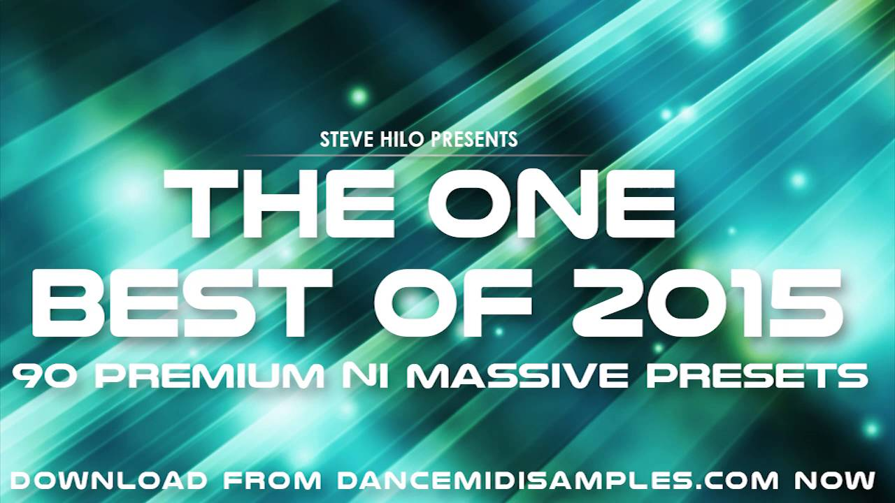 NI Massive Presets: Best of 2015 Patch Collection